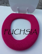 Bathroom Toilet Seat Warmer (Cover) Fuchsia