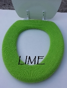 Bathroom Toilet Seat Warmer (Cover) Lime