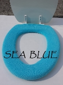 Bathroom Toilet Seat Warmer (Cover) Sea Blue